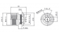 XF14K8Z розетка